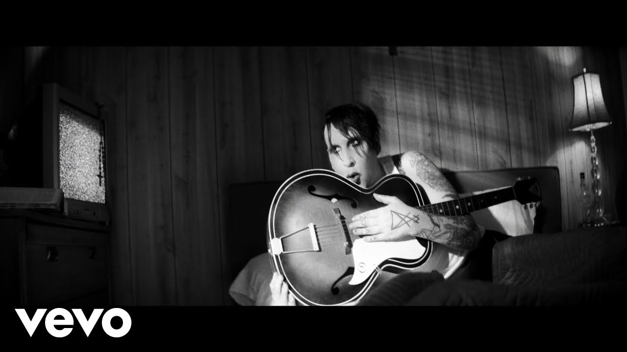 Marilyn Manson Gods Gonna Cut You Down Official Music Video