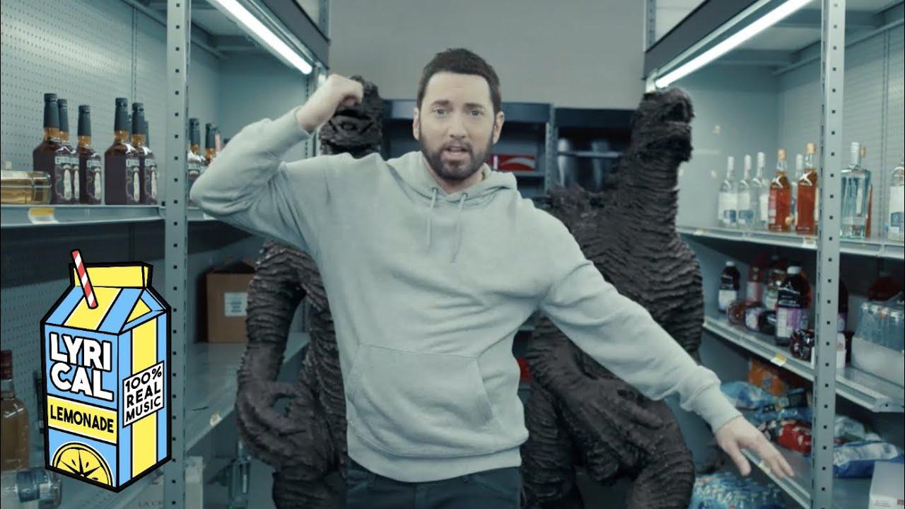 Eminem Godzilla ft Juice WRLD Dir by ColeBennett 1