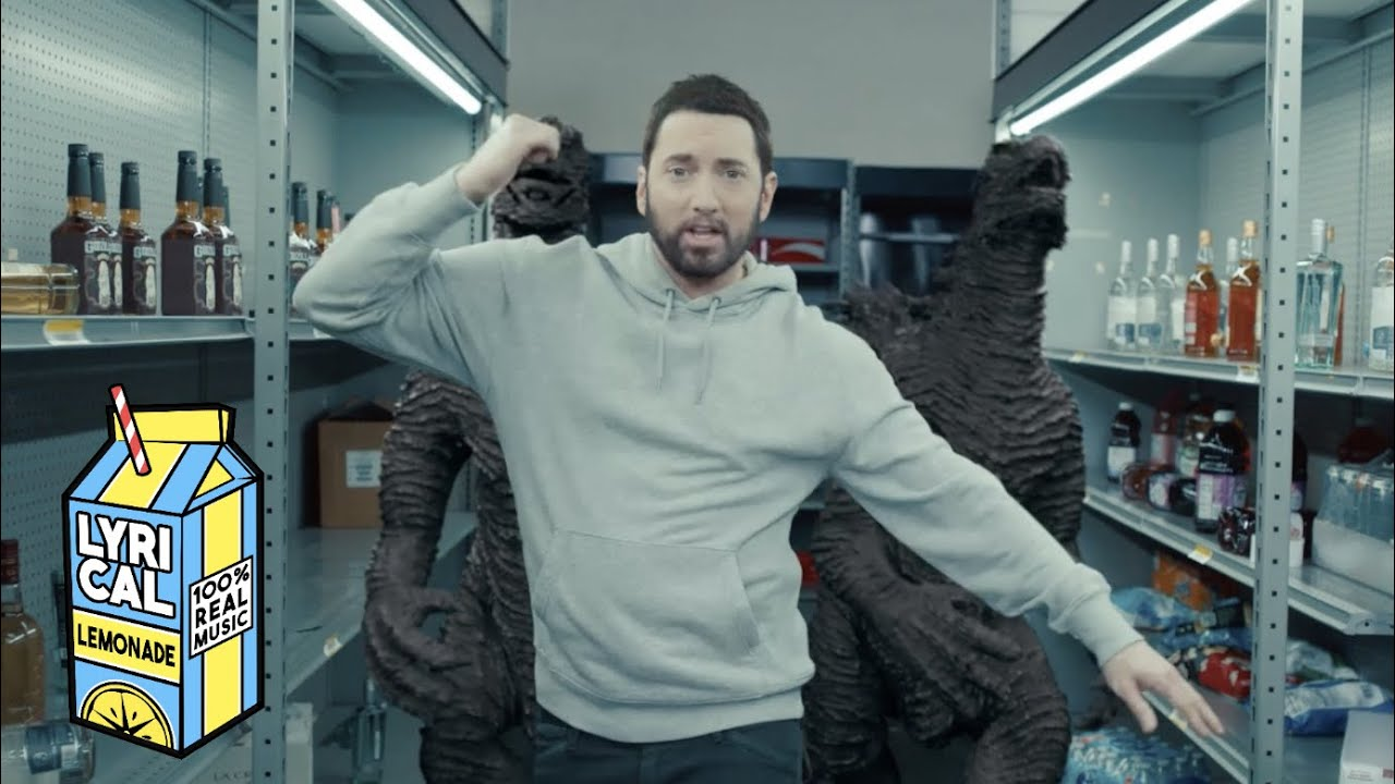 Eminem Godzilla ft Juice WRLD Dir by ColeBennett